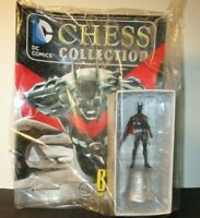 Eaglemoss DC Superheroes Chess Collection #81 Batman Beyond White Knight In Bag