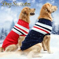 Warm Sweaters for Small Medium and Large Dogs Pet Outfits Winter Dog Clothes