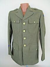 Vtg WW2 US Army Air Force Coat Jacket 40s Military 36R Rare Photographer Patch
