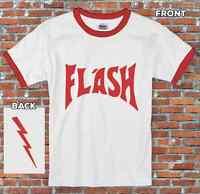 Flash Gordon Retro Sci-Fi Hero Costume Inspired T-Shirt S-2XL