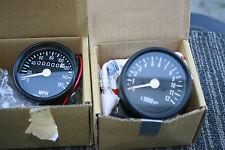 HONDA YAMAHA CB550 CB500 CB350 CB BLACK Mini Speedo Tach gauges Combo 1:7 or 1:5