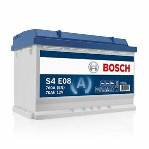 Batterie auto S4E08 12V 70ah / 760A BOSCH EFB START-STOP L3 N70