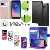 Case Cover For Samsung Galaxy A20e Leather Magnetic Slim Wallet Flip Stand Phone
