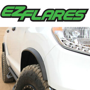 EZ Flares Universal Flexible Rubber Fender Flares Easy Peel & Stick for GMC