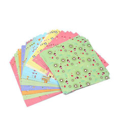 72PCS Floral Pattern Folded Origami Paper DIY Crafts Scrapbooking Handmade New