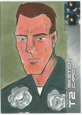 Terminator 2 Judgment Day Sketch Card drawn by J. Hammond