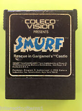 Smurf: Rescue in Gargamel's Castle (Colecovision) Black Cart Only! Tested!