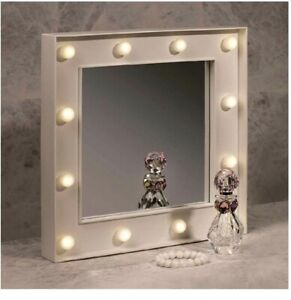 10 LED Spiegel Vanity Mirror Lights Wall Mirror Elegant Vintage Style Gift