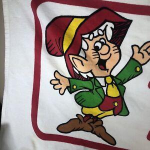 1983 R.A.Briggs Vintage Keebler Elf I Believe In Elves Beach Towel Great Shape