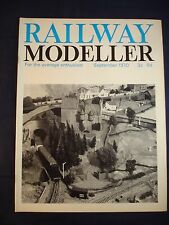 1 - Railway modeller - September 1970 - Contents page shown in photos