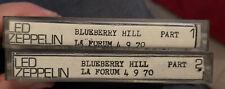 More details for led zeppelin live bootleg  cassettes 4/9/1970 blueberry hill la forum