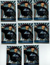 (8) 2011 FINEST DILLON GEE #79 ROOKIE LOT NEW YORK METS