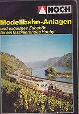 1984 VINTAGE CATALOG #1256 - NOCH MODELLBAHN-ANLAGEN MODEL TRAIN CATALOG