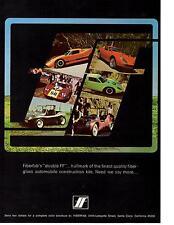 1970 FIBERFAB KIT CAR  ~  GREAT ORIGINAL PRINT AD