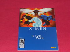 X-MEN (v1) 127 CIVIL WAR PANINI COMICS TRES BON ETAT