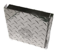 Diamond Plate CB Radio Covers for 148GTL and DX radios with SIDE mic jack.