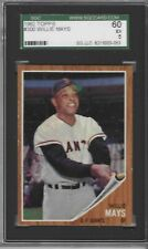 1962 Topps #300 Willie Mays Sf Giants Sgc 60 / Psa 5 Ex (compare with other 5s)