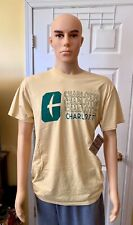 Yellow Charlotte Men's T-Shirt Size XL Knights Apparel Rivalry Threads AWESOME!