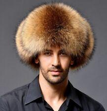 Cappello da uomo invernale in pelliccia donna Cappello da uomo in con  pelliccia f24a858257bf