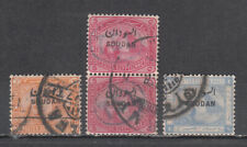 EGYPT - SUDAN  LOT OF 4 OVERPRINTED STAMPS
