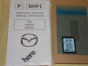 2018 2019 MAZDA GPS NAVIGATION SD CARD GPS BHP166EZ1H USA CANADA MEXICO OEM NEW