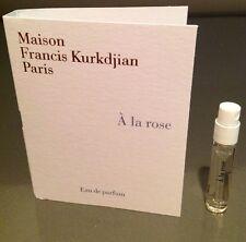Newly Release Maison Francis Kurkdjian A La Rose EDT Vial Sample 2ml .06oz