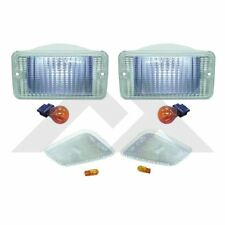 Clear Parking Light Kit. 1997-2006 Jeep Wrangler TJ