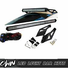 """50""""INCH LED Light Bar W/+ Upper Roof Mount Bracket Fit 02-09 Dodge Ram 1500 2500"""