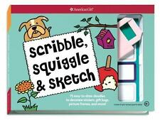Scribble, Squiggle, & Sketch: 75 easy-to-draw doodles to decorate stickers, gift