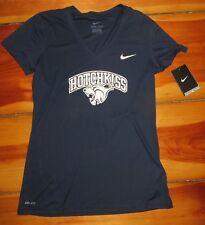 Hotchkiss - Nike blue v neck women's Tee / T- Shirt size small NWT / new