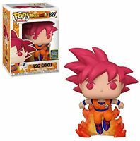Funko Pop! Dragon Ball Z Super Saiyan Ssg Goku #827 Vinyl Action Figure New
