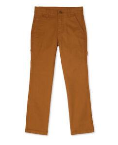 Wonder Nation boys Brown carpenter pant Size 16x28 Adjustable Waist (B-30)