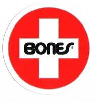 Bones Swiss Bearings Skateboard Sticker skate snow surf board bmx guitar van sk8