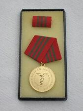 """@@ DDR Pouces Ordre """" Médaille du mérite de Administration de douane """" en Or"""