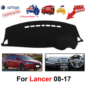 Dashmat Dash Mat For Mitsubishi Lancer CJ 2008-2017 Dashboard Cover Carpet Black