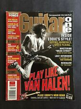 Guitar One Magazine May 2006  Eddie Van Halen    No ML