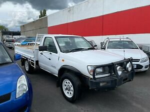 1998 NISSAN NAVARA CAB CHASSIS 3.2LTR DIESEL 4X4 5 SPEED MANUAL NO RESERVE AUCT