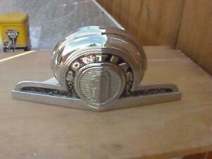 1946 Pontiac Top Center Grille Emblem Chrome Orig All Models