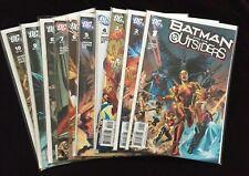 DC Comics Batman and the Outsiders Vol. 2 (2007) 1 2 3 4 5 6 7 8 9 10