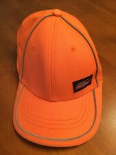 Genuine Dickies Trucker Hat Cap-Orange/Gray-One Size-New- SHIPS FREE