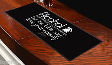 FRANK SINATRA QUOTE Bar Towel Runner Pub Mat Beer Cocktail Party Gift