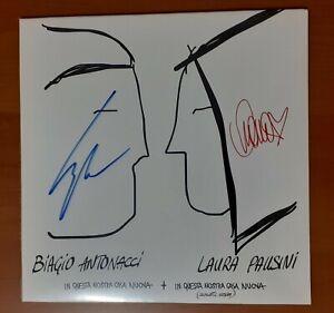 Laura Pausini Vinile Autografato