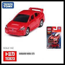 TOMICA COOL DRIVE TCD23 SUBARU WRX STI TYPE S 1/62 RED TOMY 112