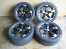 DBV Torino II Rotor Alufelgen Sommerreifen 255 45 Audi VW 7,5x17 ET35 5x112