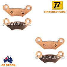 FRONT Sintered Brake Pads For POLARIS 400 Hawkeye H.O. 2x4 2013-2014