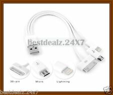 New Multi 3 in 1 Charging Data Cable for Micromax, Lenovo, Blackberry, Lava