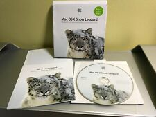 Apple Mac OS X Snow Leopard 10.6.3 Retail DVD Package - Full Version