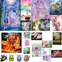 EE_ EG_ DIY 5D Diamond Animal Embroidery Painting Cross Stitch Craft Home Decor