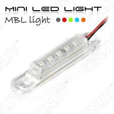 MINI LED LIGHT - FEUX LÉGER ADHÉSIF POUR ÉCLAIRAGE ET SIGNALISATION 12V DC ROUGE
