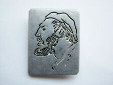 Vintage USSR Soviet union pin badge Fidel Castro